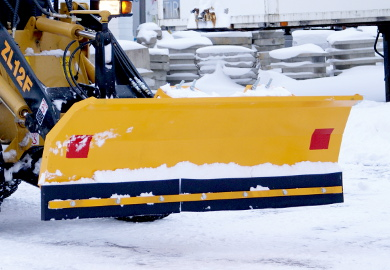Snow plow TSL has a simple design for use with tractors, its quality and ease of use is in compliance with rigid requirements.