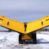 VLES series V-plow by Meiren Snow