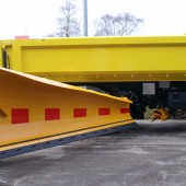 To achieve the max efficiency use side plow together with the N-series highway snow plow MSPN-04