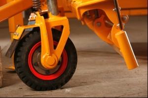 Justerbara stödhjul