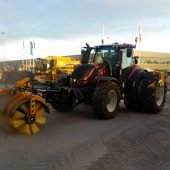 Meiren rotary broom HT with tractor attachments now available