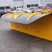 Meiren LSP-serier plogar är projekterade speciellt för snöröjning på stadsgator