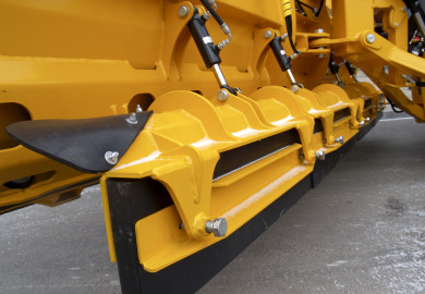 Hydraulic additional blade mechanism LH for highway snow plows by Meiren