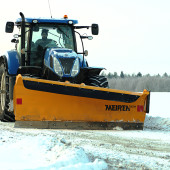 Ful set for winter: front plough TSK3403 and rear blade TR3400