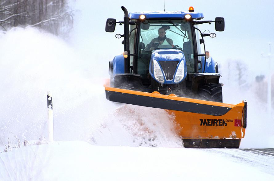 Heitev esisahk TSK traktorile