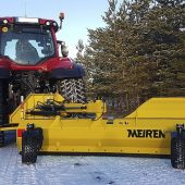 New TRN snow plough with sideshift solution