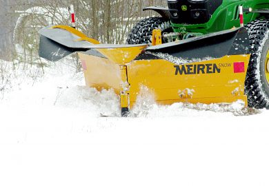 Meiren snow plough for tractor VTSP3304
