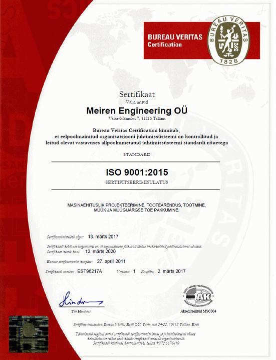 ISO 9001 EST