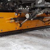 Hyvelblad AS2507 är ett slitstarkt plogblad av stål för montering under lastbilen