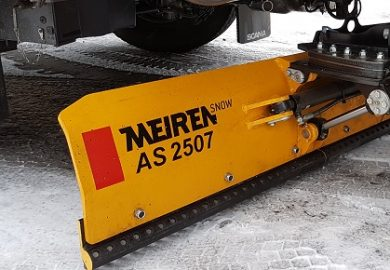 New underbody scraper AS 2507