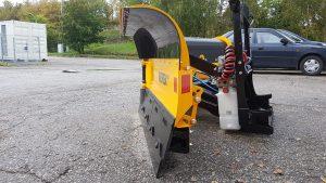 Ny snöplog VDP2504 til traktor