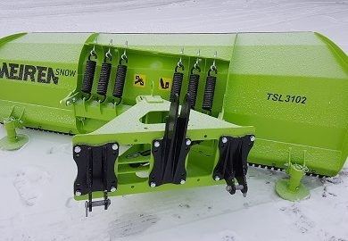 Uusi tukeva ja kestävä lumiaura TSL