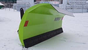 New snow plow TSL with conical moldboard