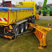 Meiren new truck-mounted side wing snow plough KSM04