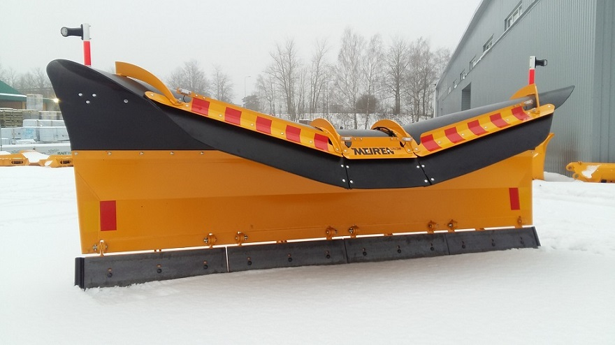 New TSP02 snow plough Twincone