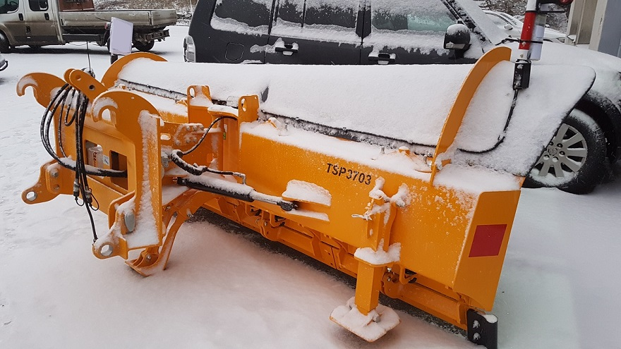 New TSP3703 snow plough